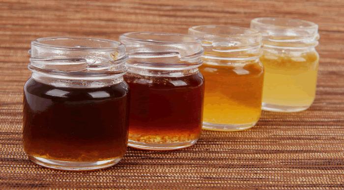 как выбрать мед по цвету