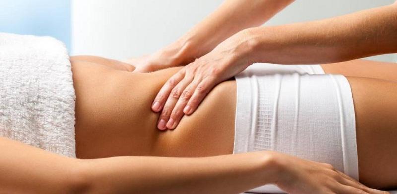 массаж при спазме желудка