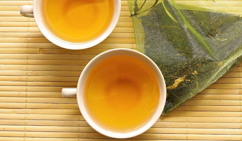 Зеленый чай с утра на тощак