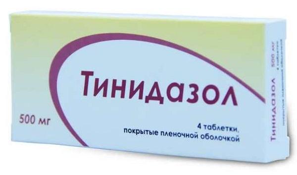 Тинидазол : эффективен от Хеликобактер