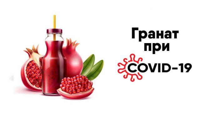 Гранат при коронавирусе — помогает!